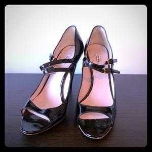 Miu miu patent leather high heels